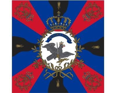 Standarte, rot-blau-schwarz (Preußen) Nr. 2419